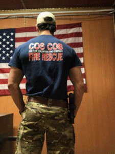 Sam Navarro 2 US Army Cos Cob Volunteer
