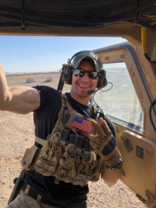 Sam Navarro US Army Cos Cob Volunteer